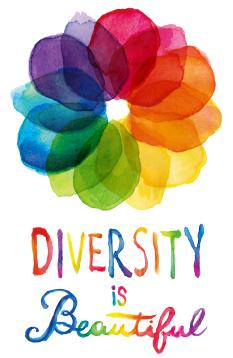 diversity is beautiful