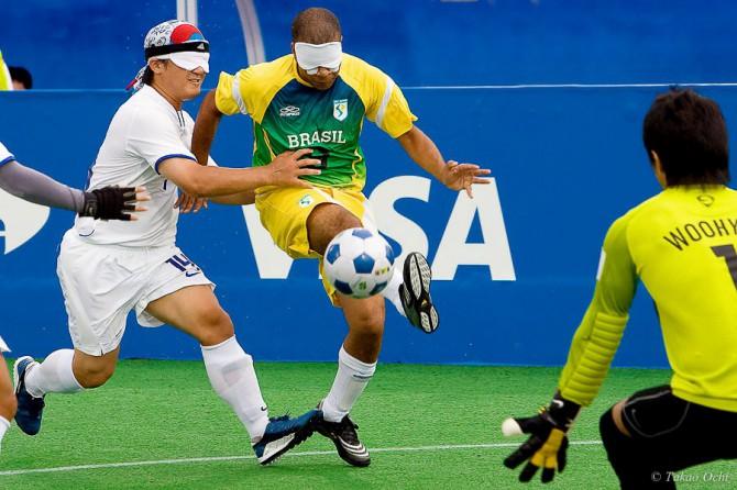 ブラインドサッカー=北京パラリンピック