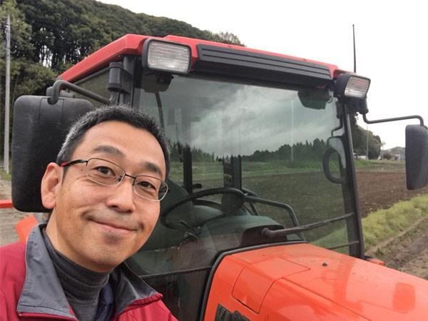 月曜日、農業法人で働く中村龍太さん