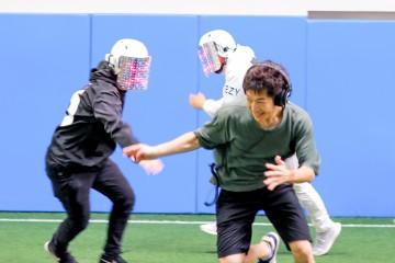 新感覚テクノ防災訓練ゆるスポーツ「エモ鬼/EMO