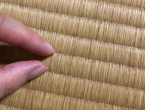 畳の目について